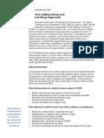 Rol de Auditoría Interna en la Gestión de Riesgo Empresarial (ERM)