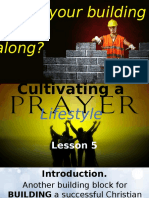 Cultivating a Prayer Lifestyle