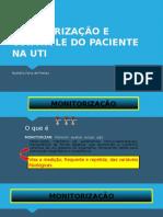 Monitorização Não Invasiva e Controle Do Paciente Na Uti