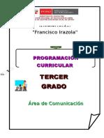 Programación Curricular Anual Rode 2014