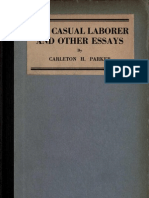 The Casual Laborer and Other Essays (1920)