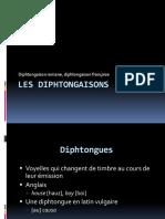 Diphtongaison