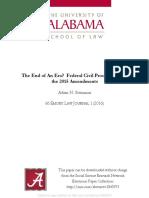 Adam Steinman End of an era? Federal civil procedure after the 2015 amendments