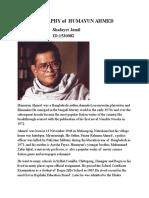 Biography of Humayun Ahmed_2