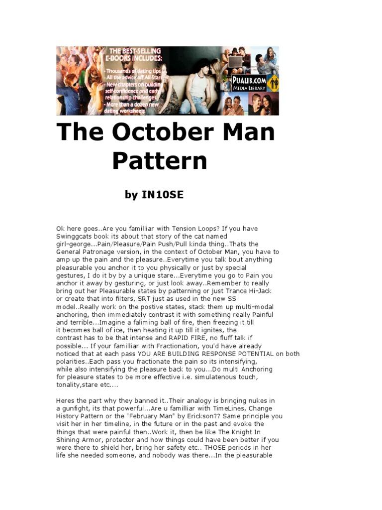 ross jeffries october man sequence