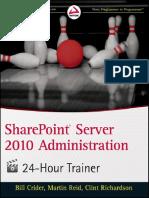 SharePoint Server 2010 Administration 24 Hour Trainer.pdf