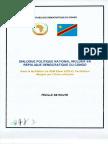 Feuille de route du dialogue en RDC