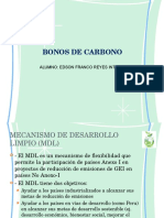 Bonos de Carbono Diapo