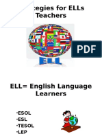 Strategies for ELLs Teachers