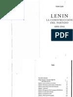 Cliff, Tony. Lenin, la construcción del partido. 1893-1914.pdf