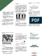 Géneros Periodísticos Manuel