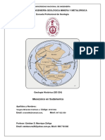 Mesozoico en Sudamérica
