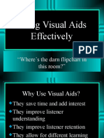 visual aid ppt
