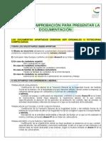 Lista Comprobacion Documentacion PREAR