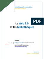 Le web 2.0 et les bibliothèques