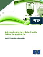 Guia Para Los Miembros de Los Comites de Etica de Investigacion CoE 2011