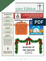 2016 November Eastminster Edition