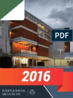 Calendario Juridico 2016 Michocan
