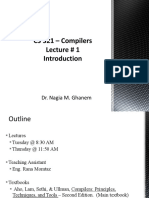 Compilers Lecture 01