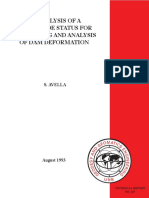 An Analysis of a Worldwide Status for Monitoring and Analysis of Dam Deformation