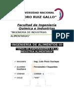 Tipos de Elevadores en La Industria Alimentaria