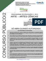 Estrategiaconcursos Sme Caderno Questoes Pe Artes Cenicas