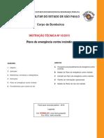 IT-16-2015 Plano de Emergencia Contra Incendio