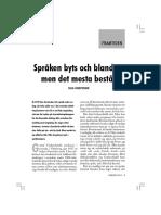 Josephson - Språken Byts Och Blandas