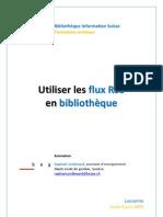 Utiliser les flux RSS en bibliothèque