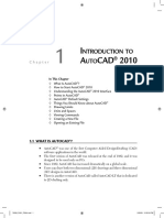 Very Very Good-Introduction to AutoCAD 2010