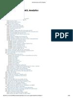 Guía Del Usuario de ACLAnalytics