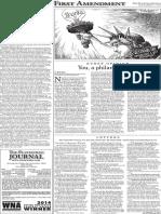 The Platteville Journal The First Amendment Nov. 11, 2015