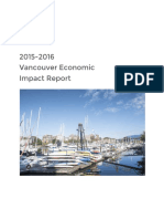 Airbnb economic impact report for Vancouver