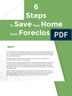 6 Steps to Saving Your Home From Foreclosure