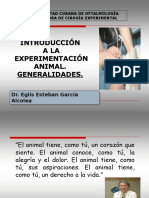 Intro. Exp. Animal. Generalidades.