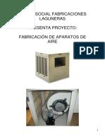 Proyecto Fabricación de Aparatos de Aire