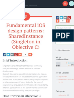 Fundamental iOS design patterns