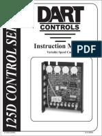Tarjeta Control Motor Dc