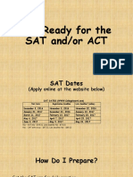 get ready for the sat and