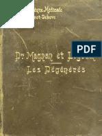 Magnan y Legrain - Les Dégénérés