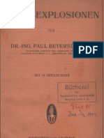 Staub - Explosionen von Paul Beyersdorfer 1925