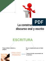 La Construcción Del Discurso