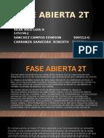 FASE ABIERTA 2T