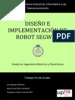Diseño e Implementacion de Robot Segway