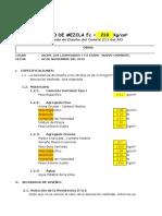 Cáculo de Diseño de MEZCLAS Modificado