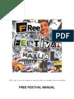 Free Festival Manual