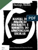Manual de Avaliação Formativa e Somativa No Aprendizado Escolar