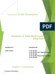 Awareness of Youth About Security on Using Facebook (1)