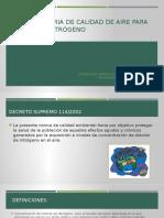 Norma Primaria de Calidad de Aire Para Dióxido (1)