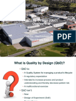 Quality by Design (Qbd) Overview